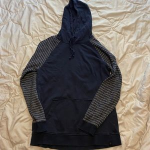 blue RipZone hoodie size XL